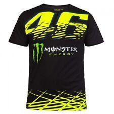 Neu Offiziell Valentino Rossi VR46 2016 Monster T-Shirt schwarz - momts 216804