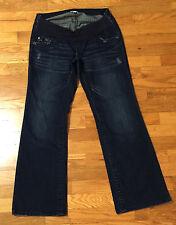 A pea in the pod Maternity Boot Cut Dark Jeans Women's Size M P
