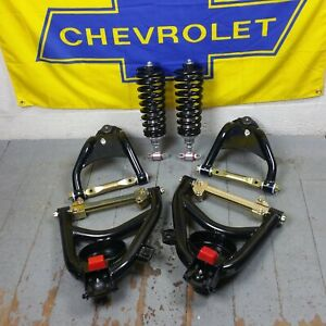 1955-1957 Chevy Bel Air Tubular Control Arms & BBC Front Coilover Conversion Kit