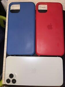 Apple iPhone 11 Pro Max - 256Go - Garantie - Argent (Désimlocké)