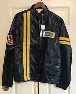 Penske Norton Vintage Race Rain Jacket NWT Sz Small