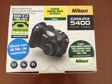 Nikon Coolpix 5400 Complete, boxed + DVD guide, Adobe + 3 CompactFlash Cards