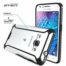 Poetic Lightweight Case For Galaxy J1 2016 Drop-proof Shockproof Cover Black