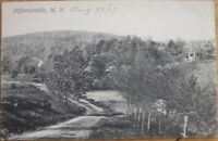 1907 NY Postcard: View of Jeffersonville, New York