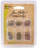 Tim Holtz Idea-ology Jump Rings Embellishments New