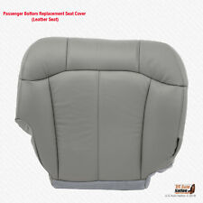 2001 2002 GMC Sierra 2500 2500HD PASSENGER Bottom Replacement GRAY Leather Cover