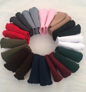 Pair Knit Rib Cuffs Seamless Tubular Cuffing Knitted Fabric - Colour Choice