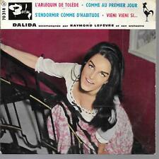 EP 4 TITRES--DALIDA--L' ARLEQUIN DE TOLEDE / COMME AU PREMIER JOUR