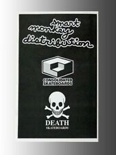 Consolidated and Death, Skateboard Products Dealer Catalog