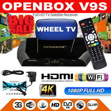 100% GENUINE OPENBOX V9S WITH 24 MONTH WHEEL TV WARRANTY, WiFi BUILT