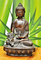 Collectables! Vieux chinois bronze sculpture en forme de Bouddha statue