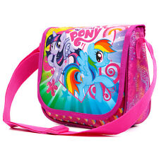 My Little Pony Handbag Shoulder Messenger Bag Girls Pink Pretty Fashion MLP