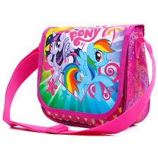 MY LITTLE PONY Borsetta spalla Messenger Bag Girls Rosa Scuola Moda MLP