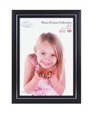 Inov8 53 Photo Frame, Plastic, Black, 18 x 12-Inch, Pack of 2