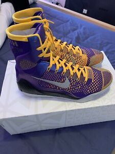 Kobe 9 Elite Brand NEW - US 10.5 - Showtime- Factory Laced