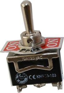 Kippschalter Schalter Taster 1x TAST / AUS / TAST 10A / 6A 125V / 250V KN3C-123