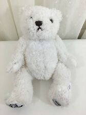 HARD ROCK CAFE white stuffed bear GLOBAL Angels 2007 HERRINGTON TEDDY BEAR 9""