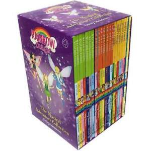 Rainbow Magic 21 Books Set Collection - Sporty Jewel and Weather Fairies NEW