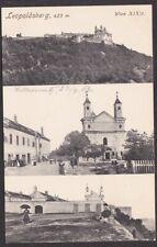 11807 Leopoldsberg Wien XIX. Döbling Mehrbildkarte 1913