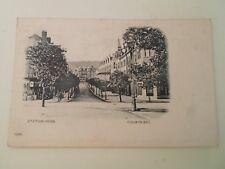 COLWYN BAY, Station Road, Vintage Postcard Franked 1902 Undivided Back  §B150