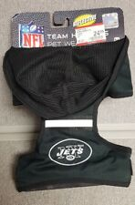 Pet New York Jets NFL Reflective Dog Hoodie Harness MEDIUM Brand New