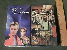 Night of the Twisters + Finding Buck McHenry (VHS x 2) Feature Films LOT *NEW*