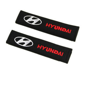 Car Seat Belt Covers Shoulder Pads Protect Safety Cushion Cotton for HYUNDAI