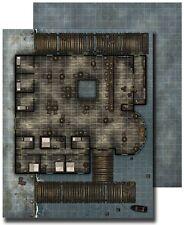 Paizo GameMastery Flip-Mat - Waterfront Tavern Used Pathfinder D&D