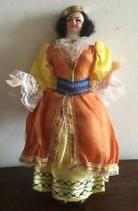 Beautiful Vintage Greek Cloth Folk Doll