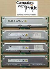 Samsung RDRAM 1GB (4x256MB) Rambus PC1066-32P MR16R1628DF0-CT9