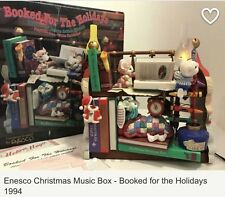 "Enesco Action Musical Home For the holidays Plays Music ""White Christmas""."