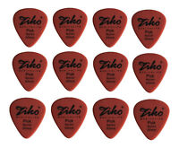 12 Thin 0.50mm Guitar Picks Plectrums For Acoustic Electric Guitar Bass