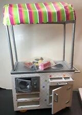 AMERICAN GIRL DOLL CAMPUS SNACK CART REPLACEMENT 2 HOT DOGS ONLY NEW