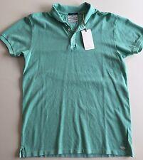 SCOTCH & SODA Men's Polo T-shirt - L - Light Green - NWT - MTS0039 -128