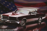 POSTER :TRANSPORTATION: EARLY PONTIAC GTO - FREE SHIPPING !  #ST3243  LC24 T