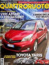 Quattroruote 672 2011 Prove Toyota Yaris, BMW serie 1, Hyundai i40, Evoque [Q98]
