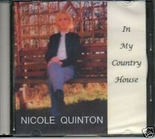 (849L) Nicole Quinton, In My Country House - 2007 DJ CD