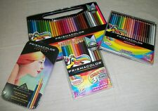 4 different Prismacolor Boxes Pieces Colored Pencils Crayons Crayola *see scan*