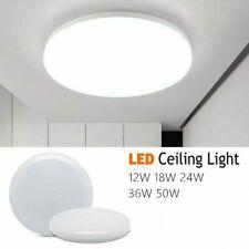 Led Panel Light Surface Mount Ceiling Down Lights 12w 50w Bathroom Kitchen Shop