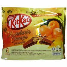 8x17g KitKat Mandarin Orange Flavor PROSPERITY PACK Kit Kat 8 Packs ^ USA Seller