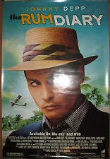 RUM DIARY - DVD release promotional poster, 2011, 27x40, EX, Johnny Depp
