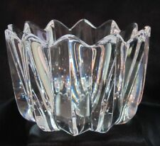 Glasschale Schale Orrefors Fleur Design Jan Johansson signiert
