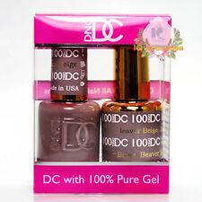 DND DC Soak Off Gel Polish Duo .6oz LED/UV