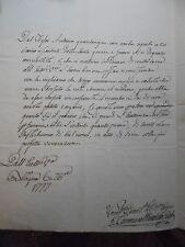 3 lettere autografo del sarto Mattioli inviate ad Eccellenza da Bologna 1777
