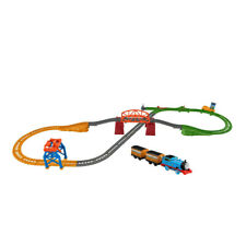 Thomas & Friends Trackmaster 3-in-1 Playset, Motorized Thomas, Annie & Clarabel