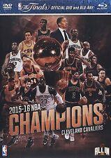 NBA Champions 2016 Cleveland Cavaliers [DVD + Blu-ray] *NEU* LeBron James Curry
