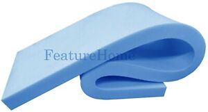 """Upholstery Foam Sheets - 60"""" x 20"""" and 80"""" x 20"""" in Any Thickness - Free Postage"""