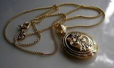 Unbranded Oval Locket Costume Necklaces & Pendants