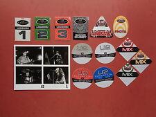 U2,promo photo,13 Backstage passes ,RARE Originals,Elevation Tours