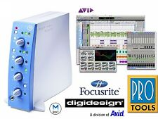 AVID/digidesign - Mbox One(focusrite) | USB Audio Interface and Pro Tools • NEW